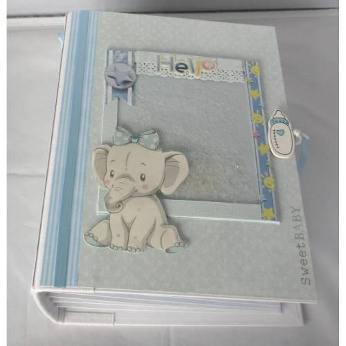 Babyalbum Junge Scrapbook Album