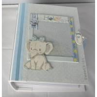 Babyalbum Junge Scrapbook Album  Bild 1