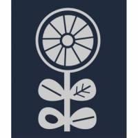 Reflektoraufbügler Blume 3x6 cm Bild 1