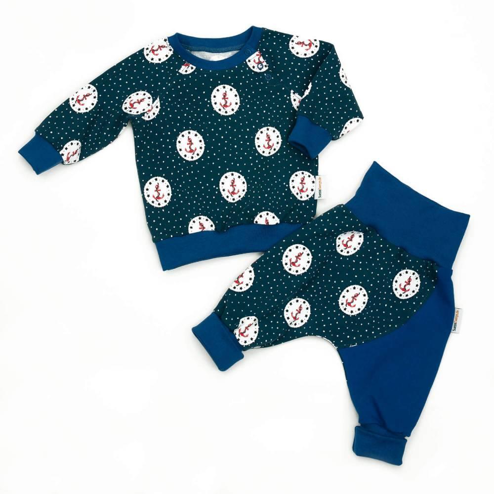 Set Pumphose und Mütze Baby Kind Mädchen 56 62 68 74 80 86 92 98 104 Handmade