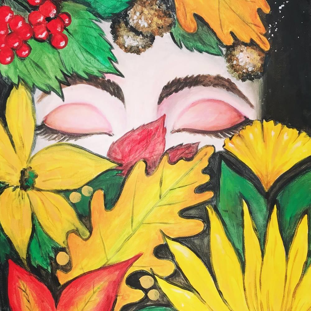 Herbstbeauty - Unikat, Einzelstück Bild 1