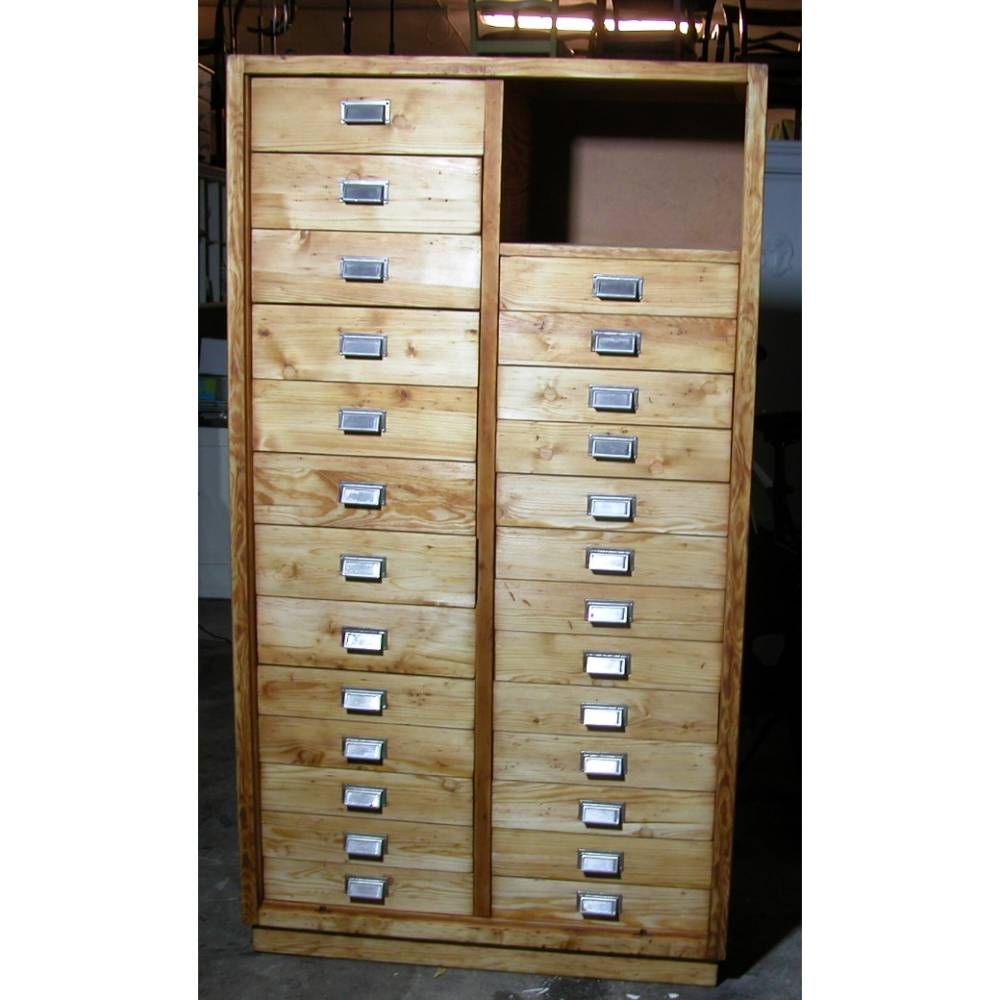 Original Industrieschrank - Werkstattschrank - Büroschrank  aus den 50er Jahren Bild 1