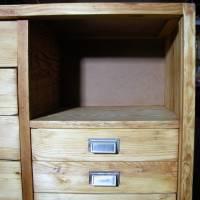 Original Industrieschrank - Werkstattschrank - Büroschrank  aus den 50er Jahren Bild 2