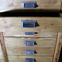 Original Industrieschrank - Werkstattschrank - Büroschrank  aus den 50er Jahren Bild 6