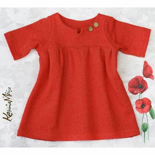 Kleid, Mädchenkleid, Rüschenkleid, Tunika *Peponia* BIO