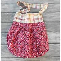 Kindergartentasche Kindertasche Shopper rosa - handgemacht Unikat  Bild 1