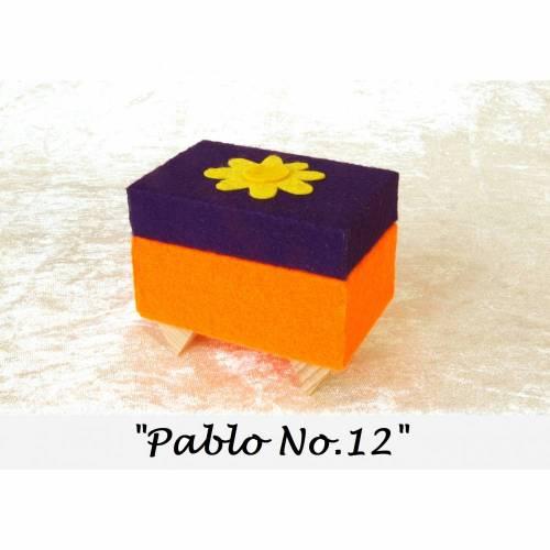filz holz box unikat schmuckkästchen schmuckaufbewahrung schmuckbox personalisierbar kunst geschenk
