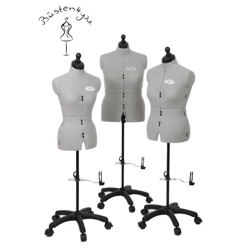 Schneiderpuppe Celine,  mehrfach verstellbar, mit Rückenlängenverstellung, Größe Medium Bild 1