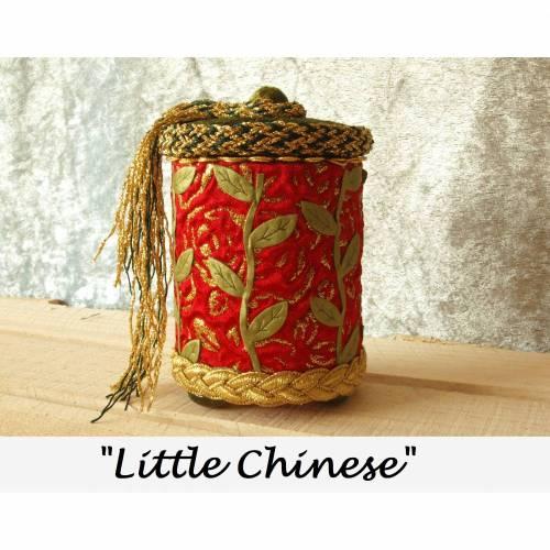 schmuckbox unikat holz box handgefertigt schmuckkästchen rot gold schmuckaufbewahrung rund personalisierbar