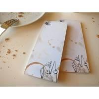 """Notizfrosch """"Guten Appetit"""", 2 Stück,kleiner Notizblock, Einkaufszettel, Notizbuch, kleiner Schreibblock, Schreibblock Frosch, aufschreiben"""