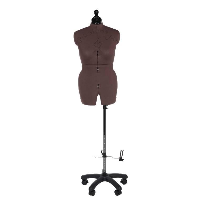 Schneiderpuppe Olivia mit Hosenansatz, mehrfach verstellbar, mit Rückenlängenverstellung, Größe Medium Bild 1