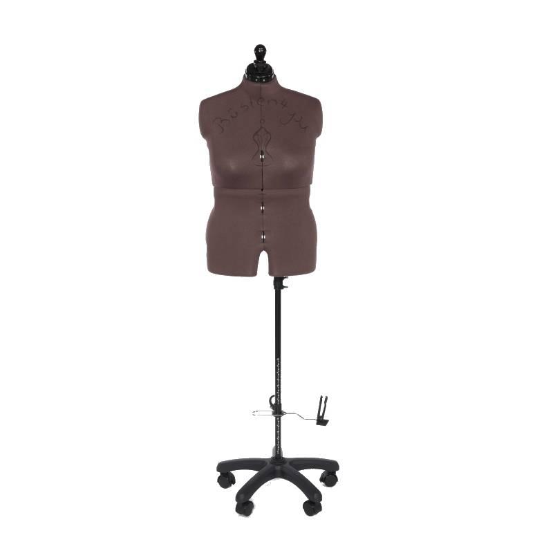 Schneiderpuppe Olivia mit Hosenansatz, mehrfach verstellbar, mit Rückenlängenverstellung, Größe Large Bild 1
