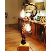 Weinreben-Leuchte mit 2 Leuchten Bild 1