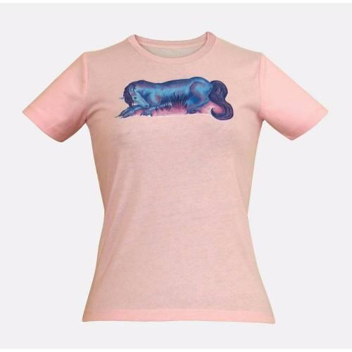 Bio Kids T-Shirt mit Pferde-Print Morning - Größen 104-164 TOP QUALITÄT!