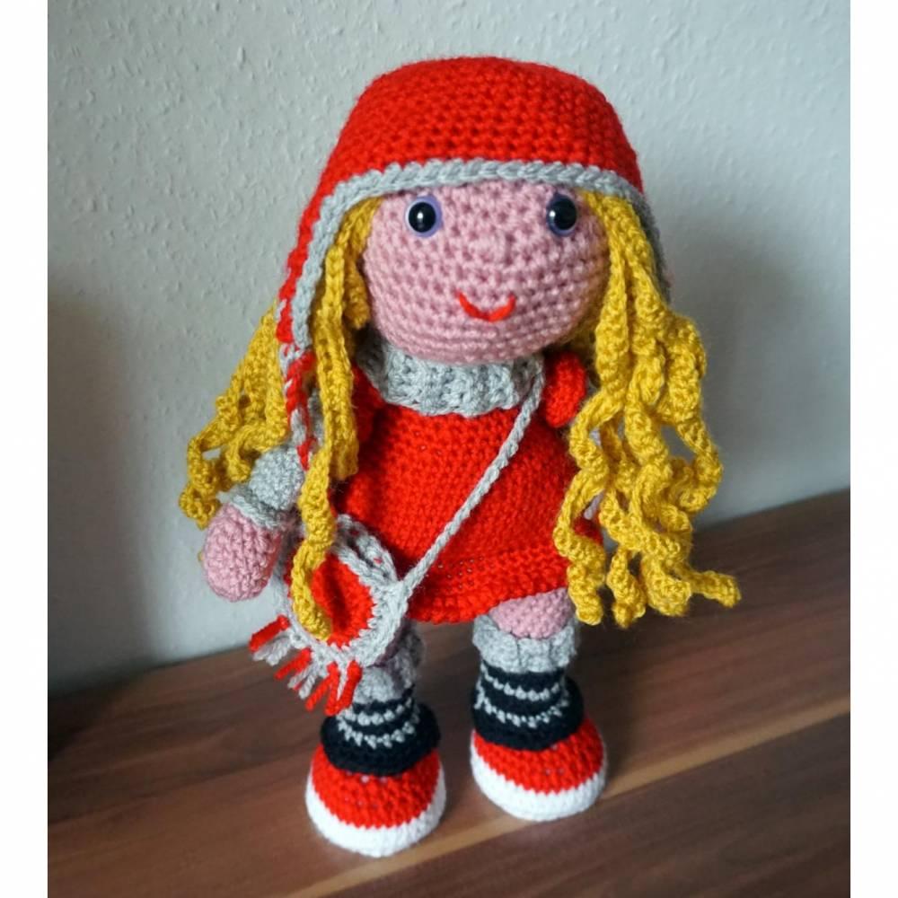Häkelanleitung Amigurumi Puppe Sharon  Bild 1