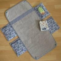 Wickelunterlage - Wickel-mobil - Elefanten - mit Frottee-Liegefläche - auf Wunsch wasserdicht Bild 5