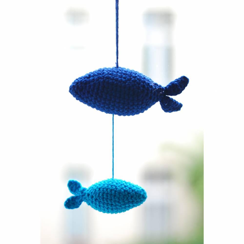 Amigurumi - Häkelanleitung - Fische Mobile Bild 1