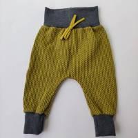 Baby Pumphose Knit Knit in  senfgelb Bild 1