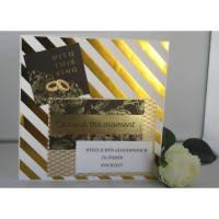Hochzeitskarte  Glückwunschkarte  Bild 1