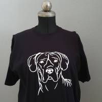 Hundekopf Tshirt Bild 1