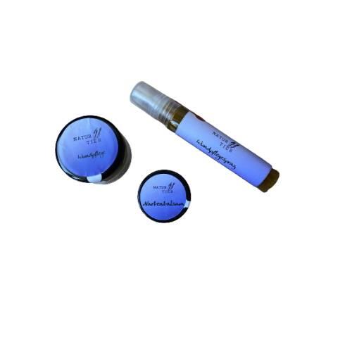 Set Wunden - Wundpflegespray, Wundpflege, Narbenbalsam - 100 % Natürliche Inhaltsstoffe