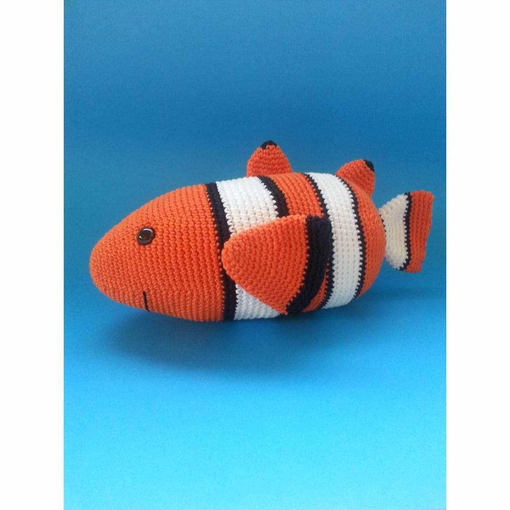 Häkelanleitung - Charly Clownfisch Bild 1