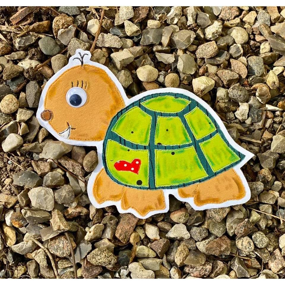 """Applikationsvorlage Schildkröte """"Karla""""   PDF-Datei Bild 1"""