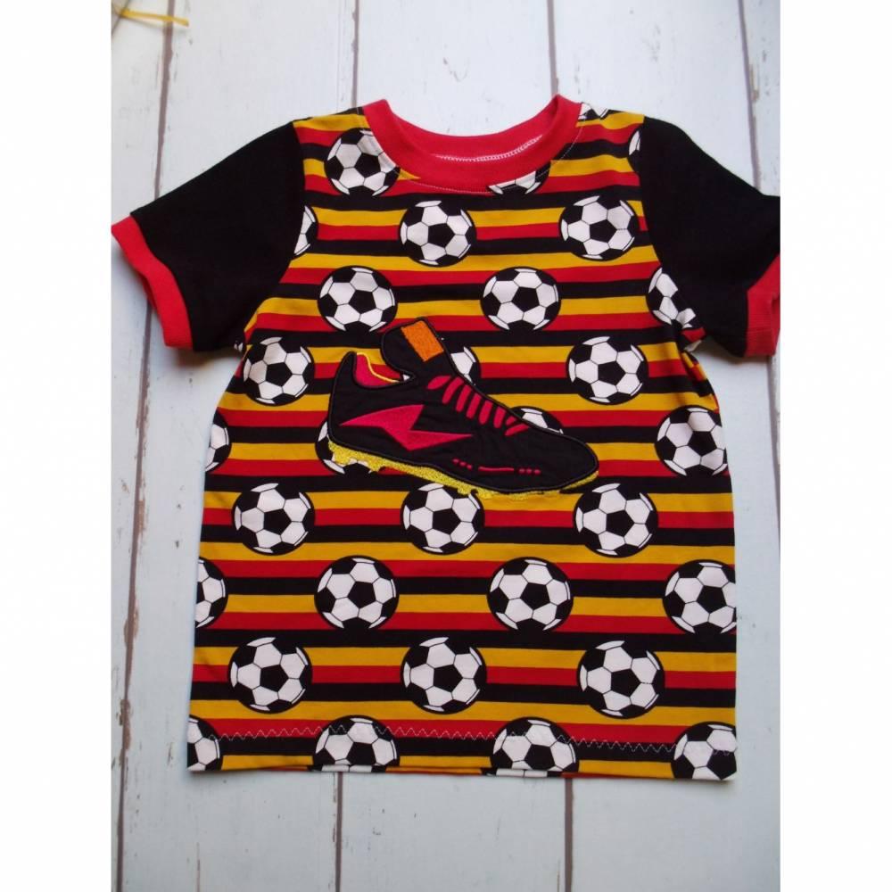 Fußball-T-Shirt Deutschland Gr. 110/116 Bild 1