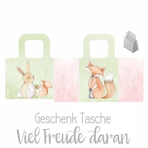 FREEBIE - FREI - GESCHENK    Geschenk Tasche selbst basteln   PDF Datei   Basteln mit Kindern