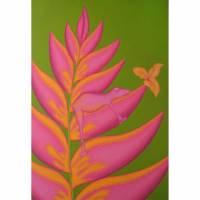 Bromelienfrosch , Bild Frosch, Froschbild, Blüte, exotische Blüte, Bromelie, Blütenbild, Blumenbild, Stilleben, Bromelie Bild, Bilder, Frog Bild 1