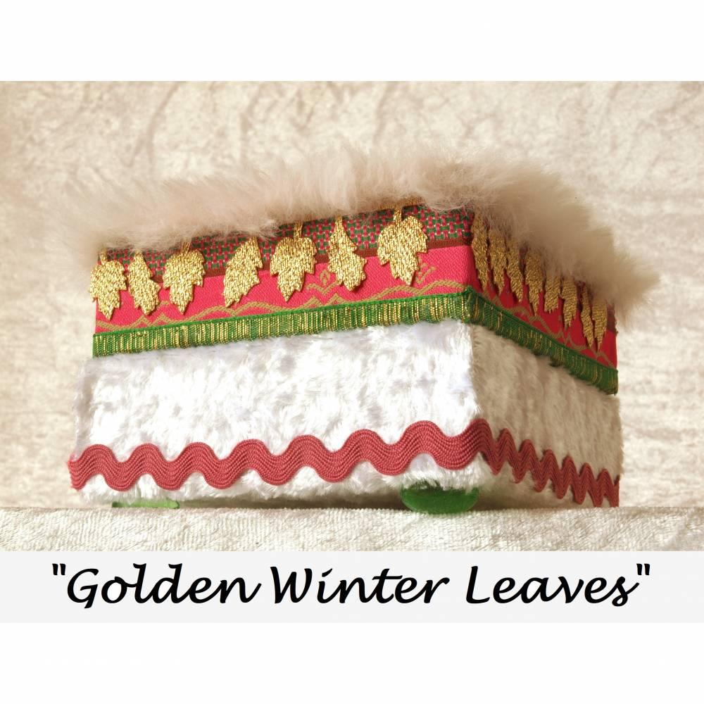 holz schmuckkästchen textil design unikat personalisierbar handgefertigte schmuckbox massiv holz buche schmuckschatulle geschenk Bild 1