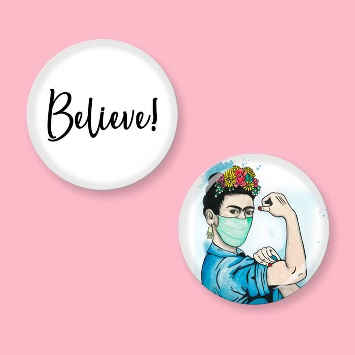 Button Set - Believe! Bild 1