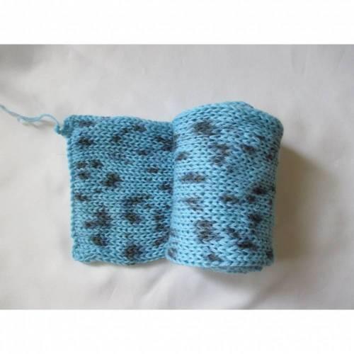 Sockblank Socktube   handgefärbte Sockenwolle   4-fach 2 x 50 Gramm   doppelter Faden