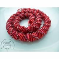Collier Rot Rot auffallend schön Bild 1