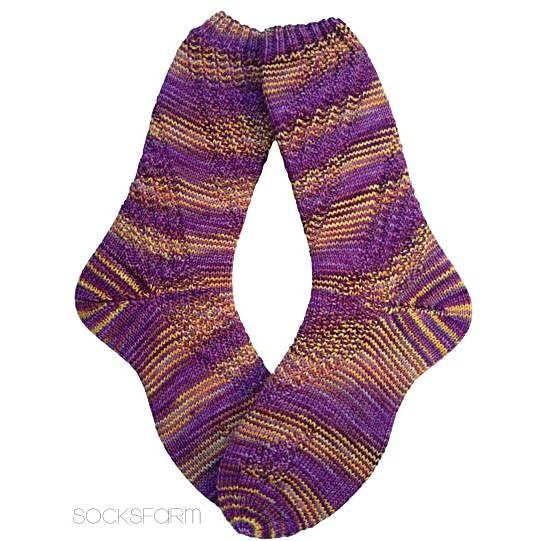 Handgestrickte Socken Größe 39-40 Bild 1