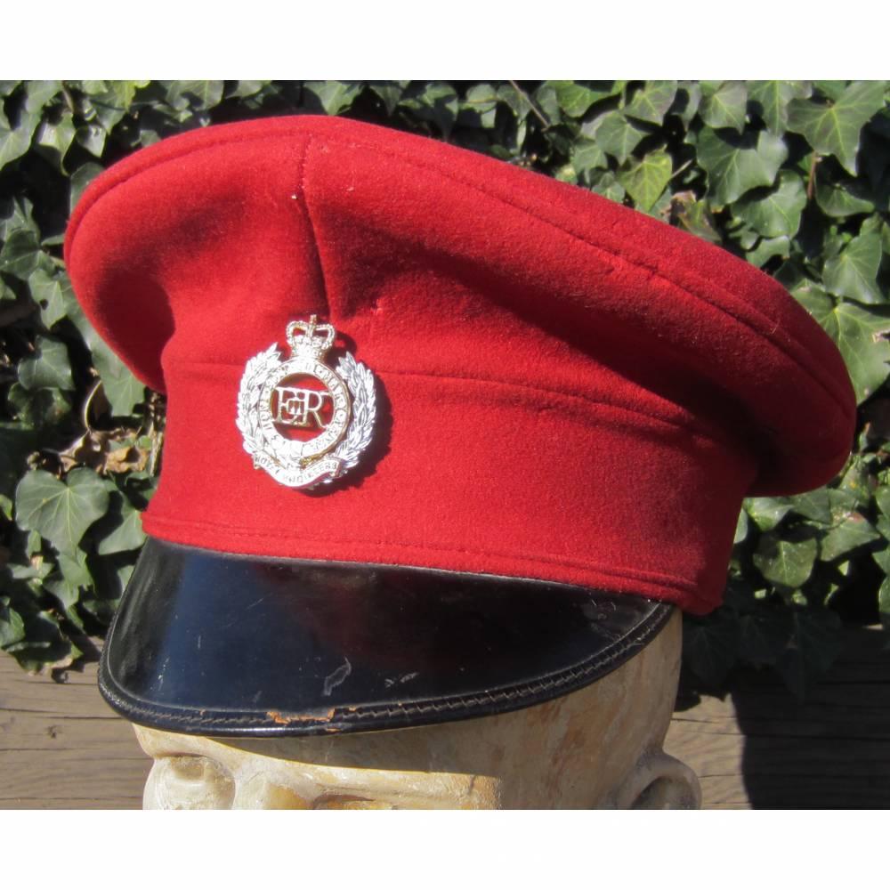 Vintage Royal Engineers England Kappe 1954 Bild 1