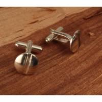 Linsenkopfschraubenform mit Schlitz als Manschettenknöpfe   Bild 2
