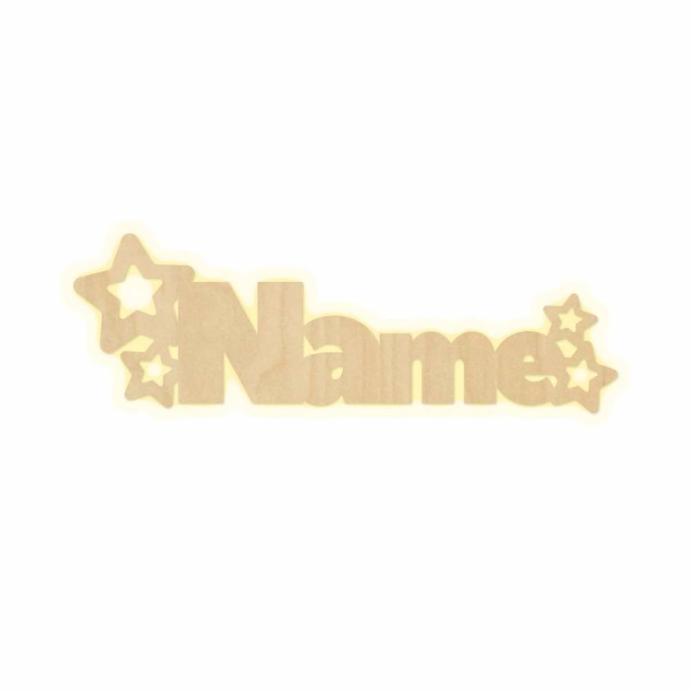 """Wandlampe """"Sterne Name"""" Kinderzimmer personalisierte Lampe mit Namen Nachtlicht Leuchte Wandleuchte Dekoration Jungen Mädchen Baby Schlummerlicht Bild 1"""