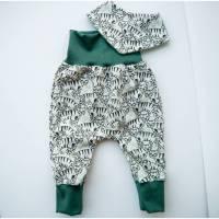 Baby Pumphose & Halstuch Jersey TIGER Bild 1