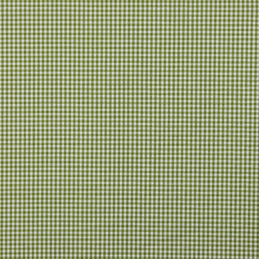 Baumwollstoff Vichy Karo grün/weiß 2mm Bild 1