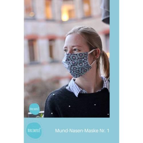 Mund-Nasen-Maske Schnittmuster