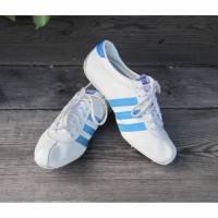 Vintage Adidas Comet Sprinter Laufschuhe Leder ca. 1970 Bild 1