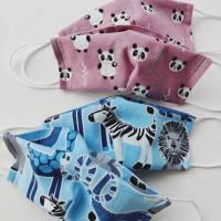 Behelfs-Mund-Nasen-Maske für Kinder 6/7 Jahre Bild 1