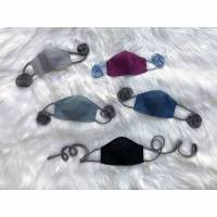 Behelfsmaske uni; Masken einfarbig; Gesichtsmaske; Mund-Nasen-Maske; Mund-Nasen-Abdeckung