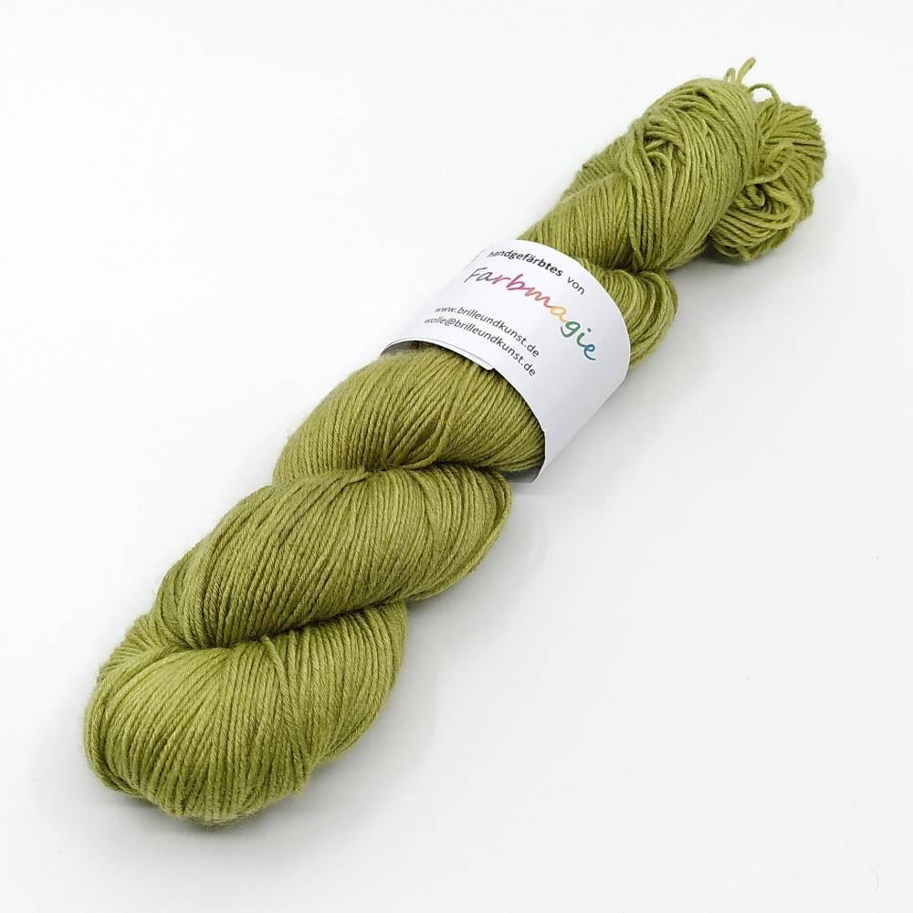 100g/ 420m LL kuschelige Merino mit Seide handgefärbt  Bild 1