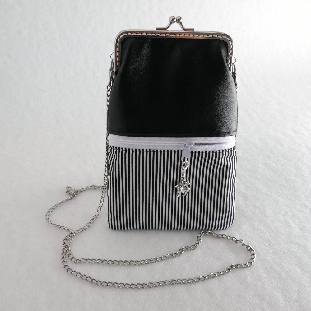 Umhängetasche fürs Handy, Crossbody Bag mit Anhängerwahl Bild 1