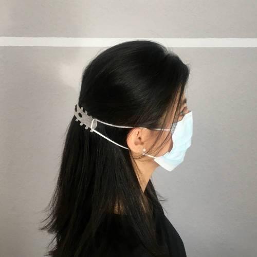 Ohrenschoner kleiner Helfer passen für Mundschutzmasken gegen Schmerzen hinter den Ohren