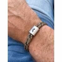Bergsteiger Wander Armband mit Gravur | Gipfelstürmer | Abenteurer | Entdecker | Bergverliebte Bild 2