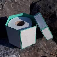 Schachtel / Explosionsbox für Klopapier - Plotterdatei Bild 1