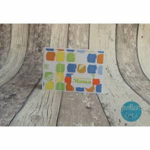 Grußkarte, Glückwunschkarte zum Muttertag aus der Manufaktur Karla
